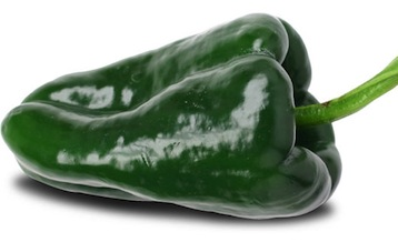This is a poblano or ancho chili pepper