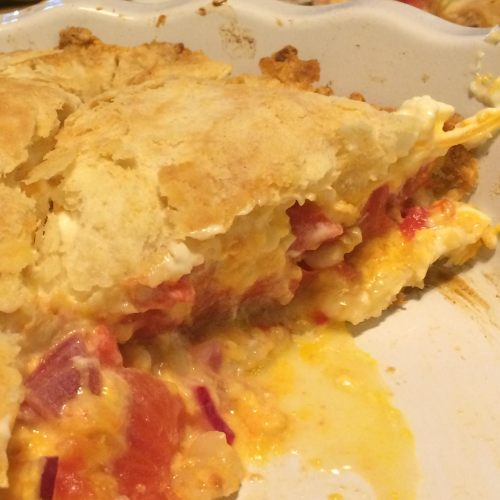 """another savory summertime """"pie"""""""